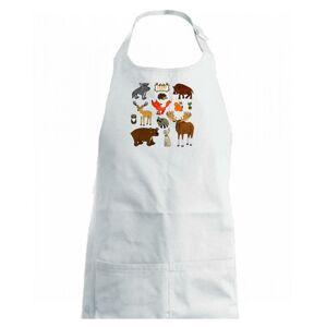 Lesní zvířátka - Dětská zástěra na vaření