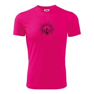 Ježíš a svatozář - Dětské triko Fantasy sportovní (dresovina)