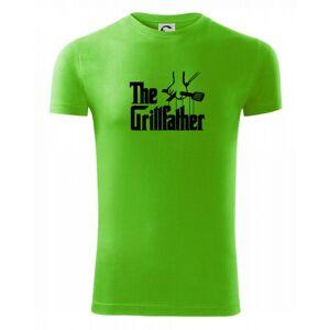 The Grillfather - Viper FIT pánské triko