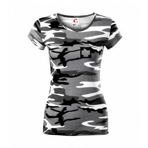 Hranatý kříž - Rescue - Dámské maskáčové triko