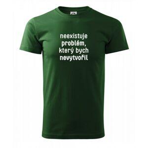 Neexistuje problém, který bych nevytvořil ON a ONA - Heavy new - triko pánské