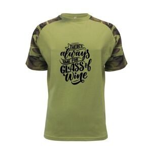 There always time for glass of wine - Raglan Military