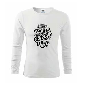 There always time for glass of wine - Triko dětské Long Sleeve