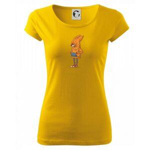 Liška v mikině - Pure dámské triko
