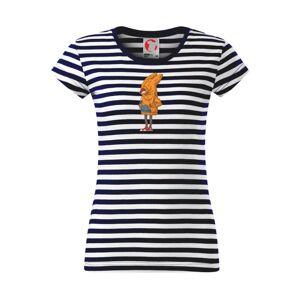 Liška v mikině - Sailor dámské triko