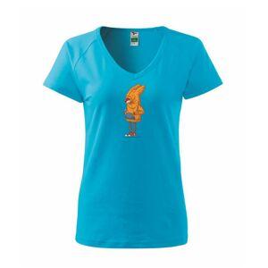 Liška v mikině - Tričko dámské Dream