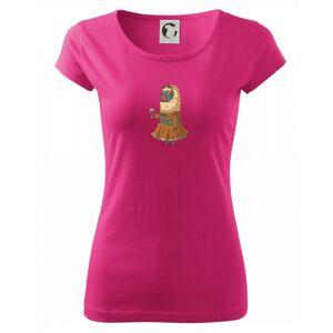 Alpaka s vínem žena - Pure dámské triko