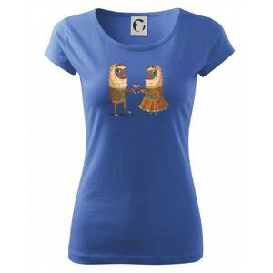 Alpaky s vínem pár - Pure dámské triko