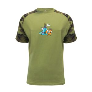 Indiánská liška - Raglan Military