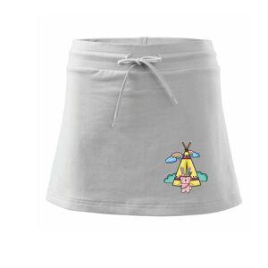 Indiánský zajíc - Sportovní sukně - two in one
