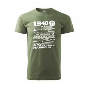 1940 v kostce - Heavy new - triko pánské
