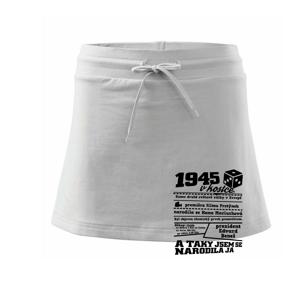 1945 v kostce - Sportovní sukně - two in one