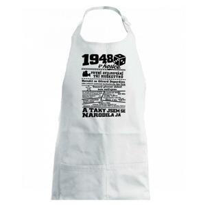 1948 v kostce - Zástěra na vaření