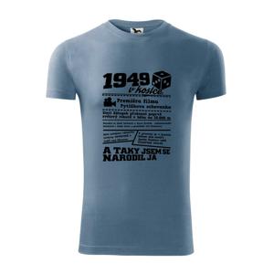 1949 v kostce - Viper FIT pánské triko