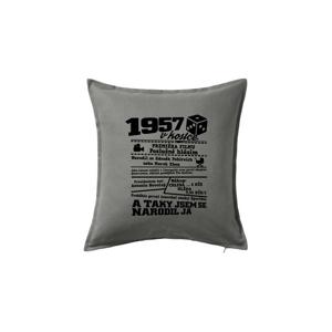 1957 v kostce - Polštář 50x50