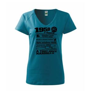 1958 v kostce - Tričko dámské Dream