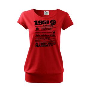 1958 v kostce - Volné triko city