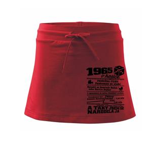 1965 v kostce - Sportovní sukně - two in one