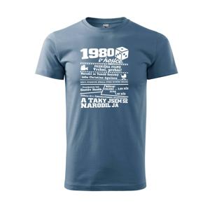 1980 v kostce - Heavy new - triko pánské