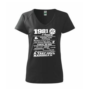 1981 v kostce - Tričko dámské Dream
