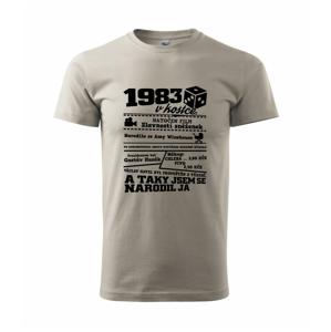 1983 v kostce - Heavy new - triko pánské
