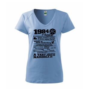 1984 v kostce - Tričko dámské Dream