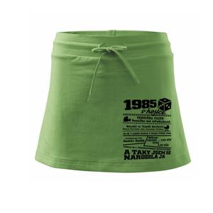 1985 v kostce - Sportovní sukně - two in one