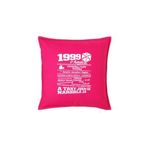 1999 v kostce - Polštář 50x50