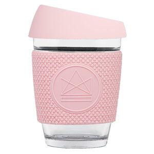 Skleněný hrnek na kávu, M, 340 ml, Neon Kactus, růžový, GC1209