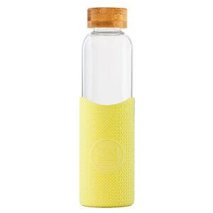 Neon Kactus, skleněná láhev, 550 ml, žlutá, GB06