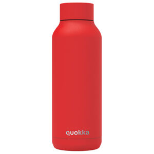 Nerezová láhev Solid Powder, 510 ml, Quokka, červená