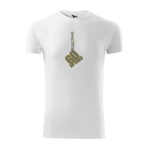 60 let na krku řetěz - Viper FIT pánské triko