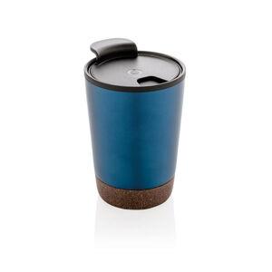 Termohrnek Cork, 300 ml, XD Design, modrý