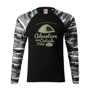 Adventure outside - Camouflage LS