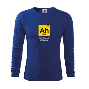 Ah - the element od surprise - barevné - Triko s dlouhým rukávem FIT-T long sleeve