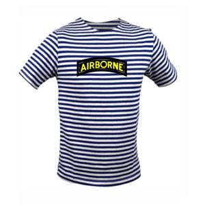 Airbone nápis - Unisex triko na vodu