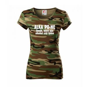 Alkapone - Dámské maskáčové triko