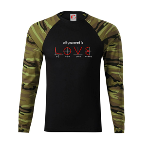 All you need is love - Camouflage LS