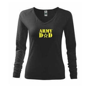 Army dad - Triko dámské Elegance