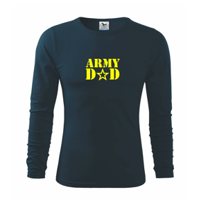 Army dad - Triko s dlouhým rukávem FIT-T long sleeve