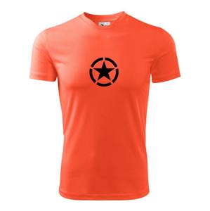 Army hvězda - Pánské triko Fantasy sportovní (dresovina)