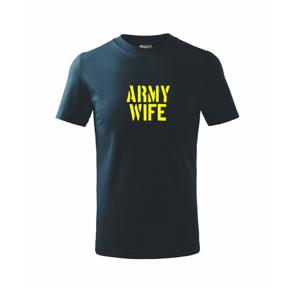 Army Wife - Triko dětské basic