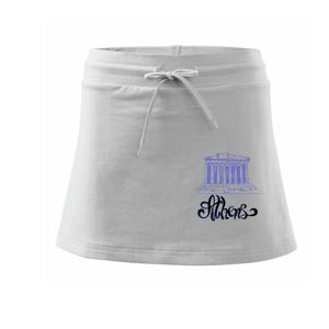 Athens Lettering - Sportovní sukně - two in one