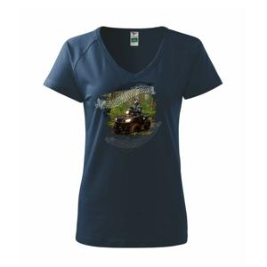 ATV čtyřkolka v lese - Tričko dámské Dream
