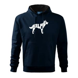 Australská kelpie - Mikina s kapucí hooded sweater