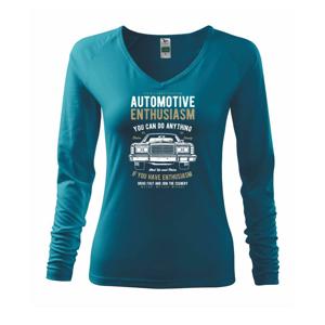 Automotive Enthusiasm - Triko dámské Elegance