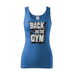 Back in the gym - Tílko triumph