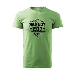 Bad boy since 1977 - Heavy new - triko pánské