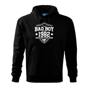 Bad boy since 1982 - Mikina s kapucí hooded sweater