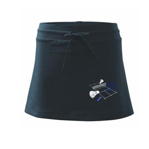 Badminton - hřiště - Sportovní sukně - two in one